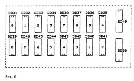 схемы и (нумерация от 0 до
