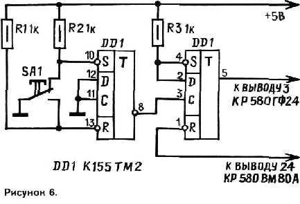 А вот микросхема ВР580ВГ75